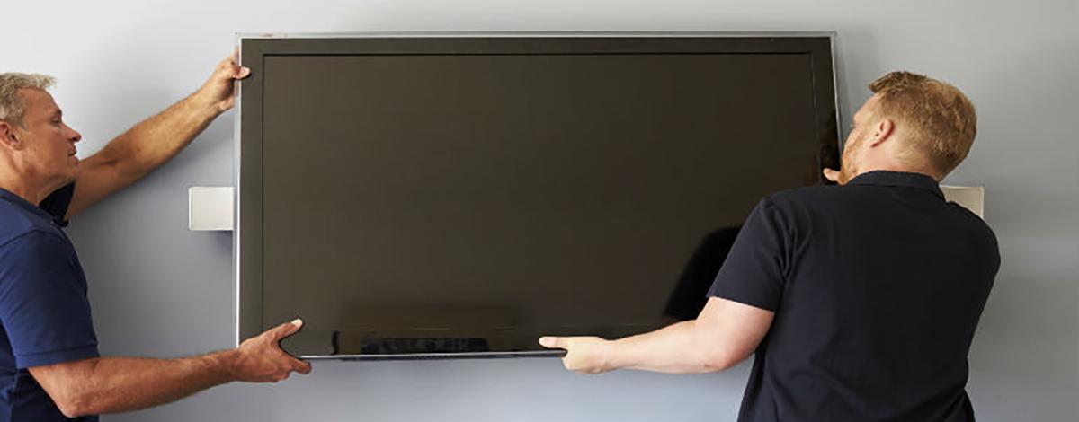 آموزش چگونگی نصب تلویزیون روی دیوار