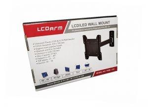 تولید کننده پایه دیواری تلویزیون متحرک (بازویی) مدل TWM-338 لیست قیمت براکت دیواری تلویزیون ال سی دی متحرک چرخشی با قیمت مناسب