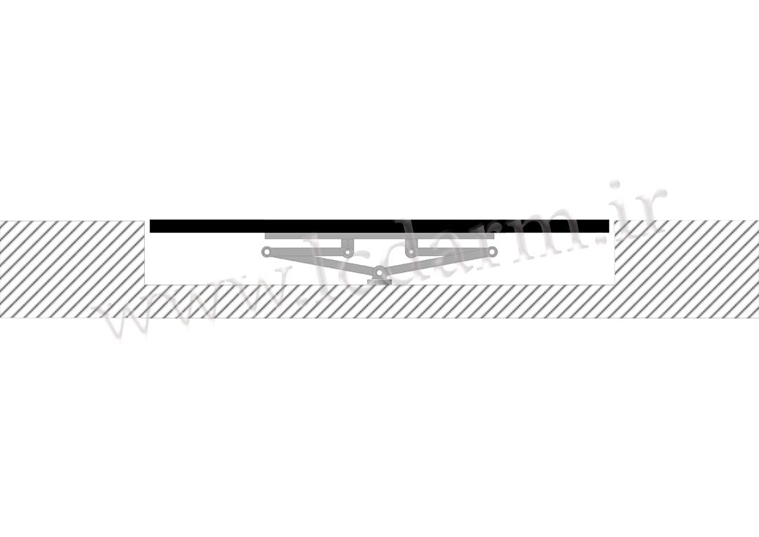 پایه دیواری تلویزیون تمام جهات مدل TWM-475 براکت دیواری ال سی دی قیمت مناسب خرید پایه دیواری تلویزیون ال ای دی