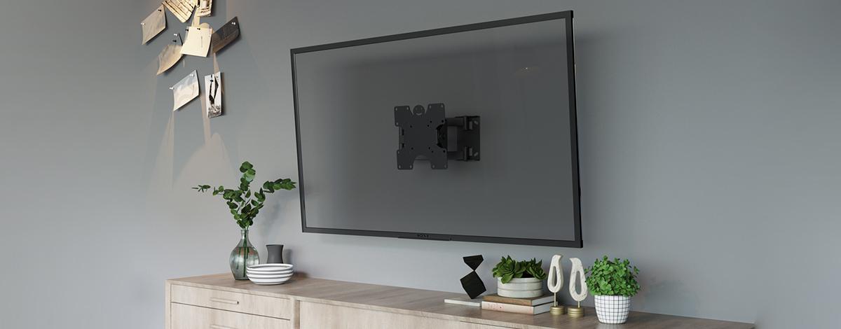 خرید براکت دیواری تلویزیون راهحلهای کاربردی برای استفاده بهینه از فضای داخلی