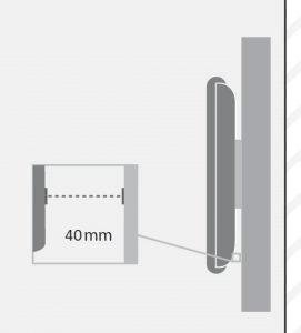 ال سی دی آرم تولیدی پایه دیواری تلویزیون LCD و LED مدل TW-300 لیست قیمت فروش براکت تلویزیون سونی سامسونگ ال جی