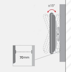 - پایه متحرک دیواری تلویزیون مدل TW-460 03